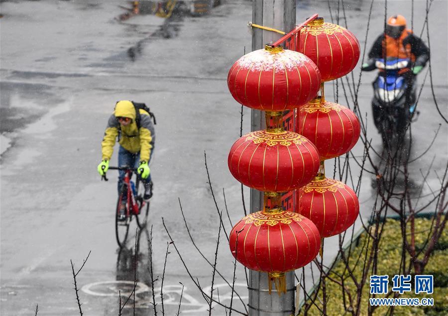 (環境)(7)北京迎來春雪