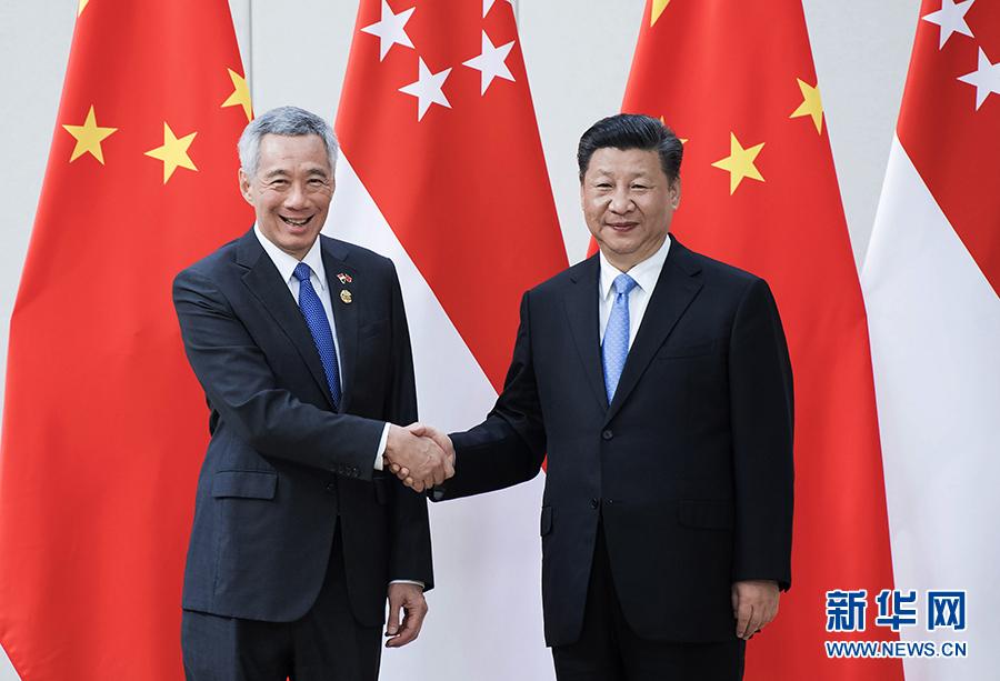 习近平会见新加坡总理李显龙防水透气膜杨留成