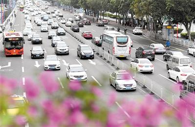 """广州:""""开四停四""""管理措施效果如何?预计九成外地车不受影响渝简称"""