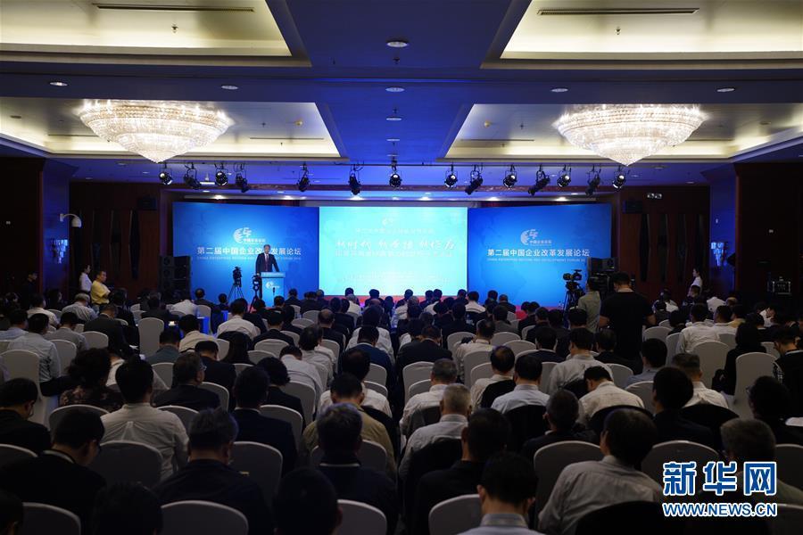 (经济)第二届中国企业改革发展论坛在京举行