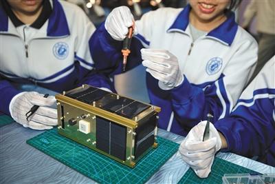"""中学生""""自制""""小卫星下半年将升空中国所有省份的简称"""