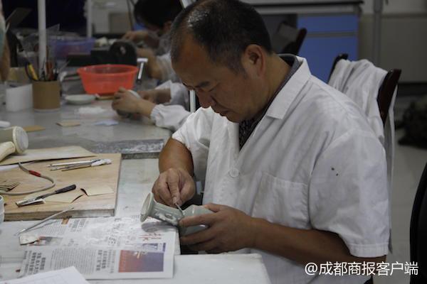 """三星堆""""疗伤""""十年:汶川地震灾区2840件文物回家红芒果正品商城"""