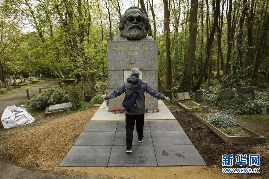 (国际)(1)海格特公墓的马克思墓