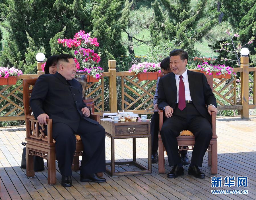 习近平同朝鲜劳动党委员长金正恩在大连举行会晤新还珠柳红