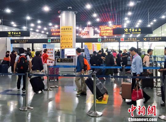 上海郵輪出入境遊客突破千萬人次人均通關耗時6秒