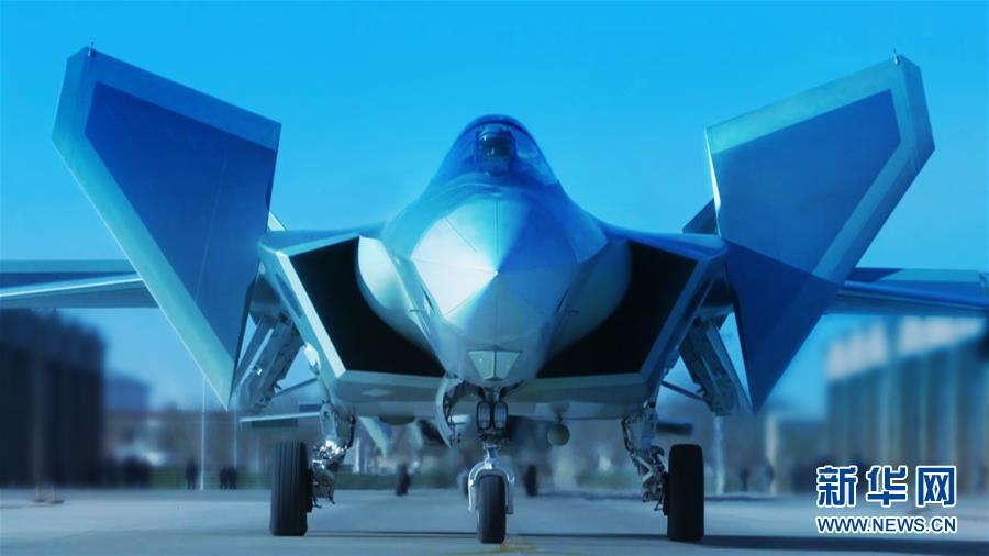 歼-20新式头盔增强现实技术 帮飞行员用眼神作战