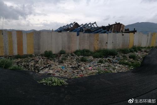 云南昭通垃圾污染问题严重 相关人员蒙骗检查被问责