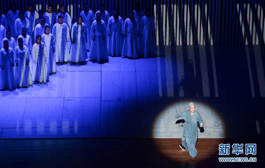 (文化)(2)史詩歌劇《鑒真東渡》在臺灣新北上演