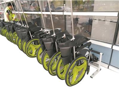 共享轮椅入院 患者医院能否双赢?