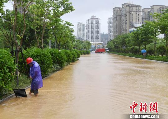 """台风""""玛莉亚""""已造成福州直接经济损失逾1.6亿元"""