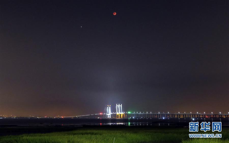 #(社會)(5)天幕上演月全食美景