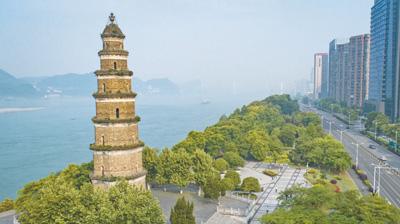 【大江奔流――来自长江经济带的报道】宜昌:江岸复葱茏