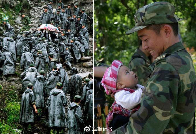 这,就是中国军人!