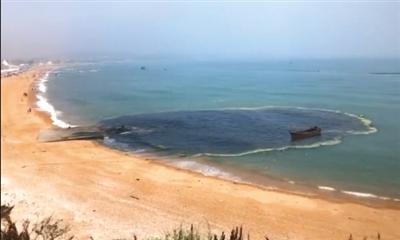 """金石滩黄金海岸海滨浴场""""向海中排污""""?官方回应"""