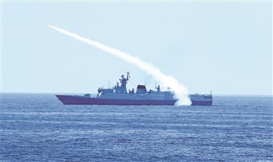 三大战区海军举行导弹专业竞赛性考核 10余艘舰艇同台竞技