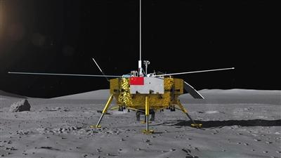 """北京急速赛车彩票:""""嫦娥四号""""月球车首亮相面向全球征名_年底奔月"""
