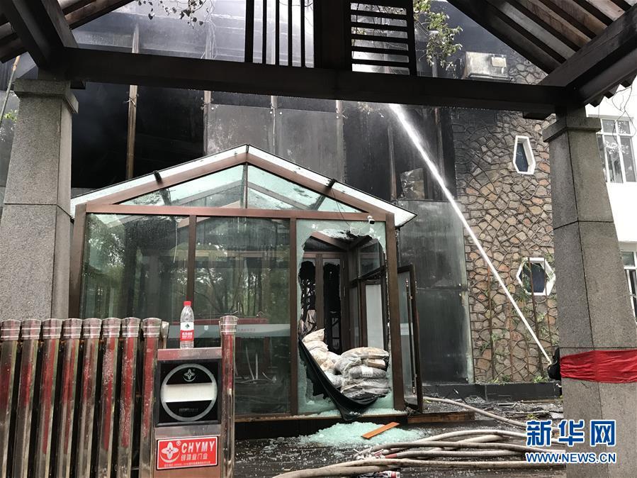 #(突發事件)哈爾濱酒店火災致18死19傷