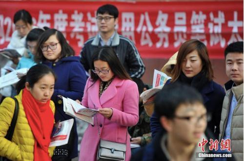 中国中央机关及其直属机构2019年度公务员国考计划招录1.45万人