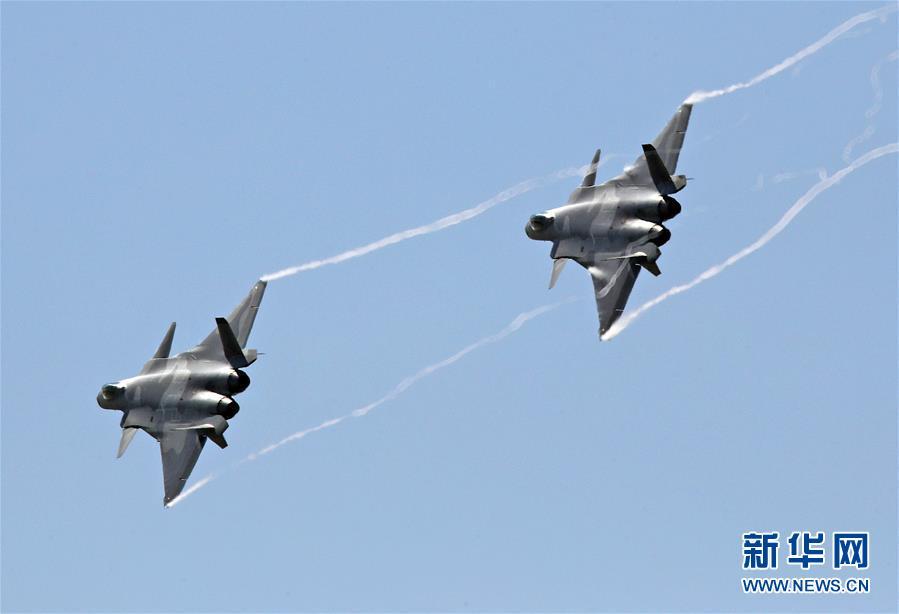 (科技)(19)中国空军飞行表演异彩纷呈