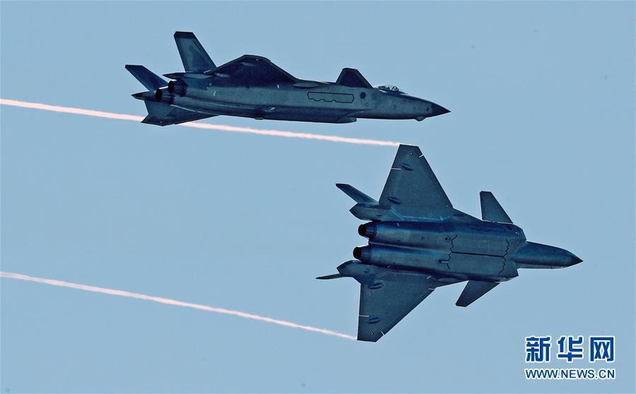 (科技)(20)中国空军飞行表演异彩纷呈