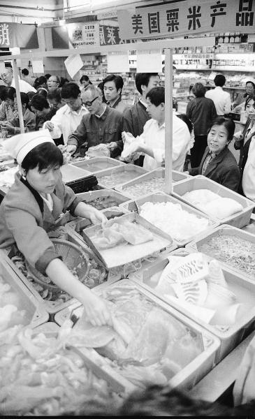改革开放40年来 百姓就餐消费增长474倍