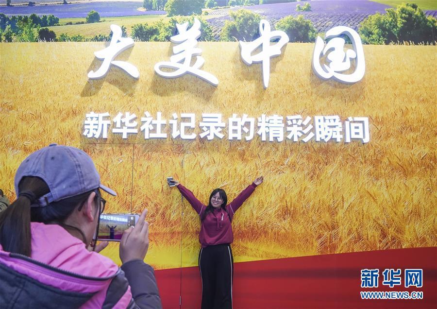 (圖文互動)(1)筆墨書崢嶸 光影繪壯美——慶祝改革開放40周年大型展覽新華社展項掃描