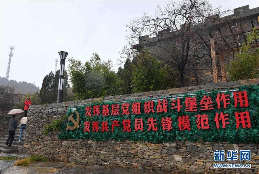 (庆祝改革开放40周年基层行·村庄篇·图文互动)(4)九间棚:风景这边独好