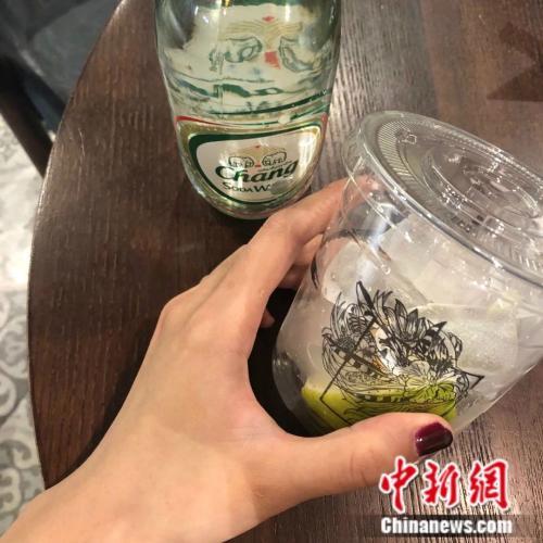 """奶茶的種類已經不再限制于""""奶 茶""""。來源:受訪者供圖。"""
