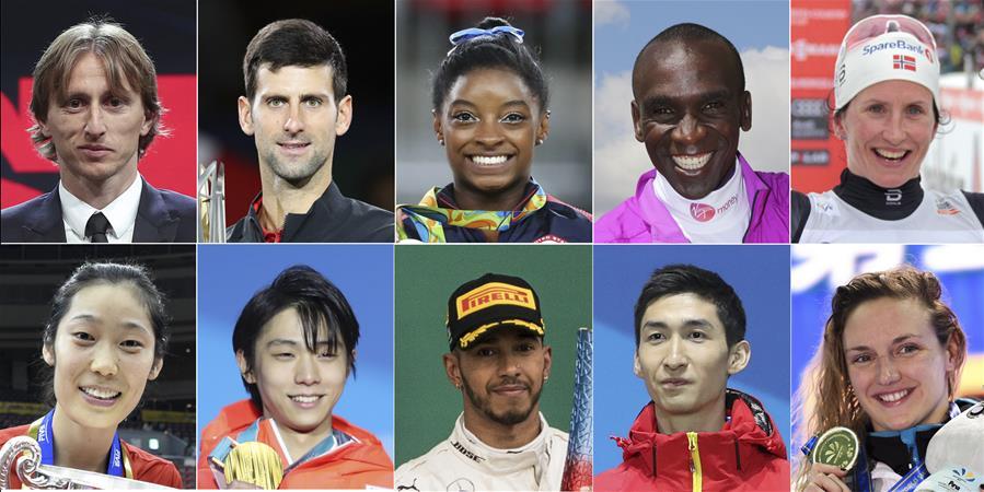 新华社体育部评出2018年国际十佳运动员