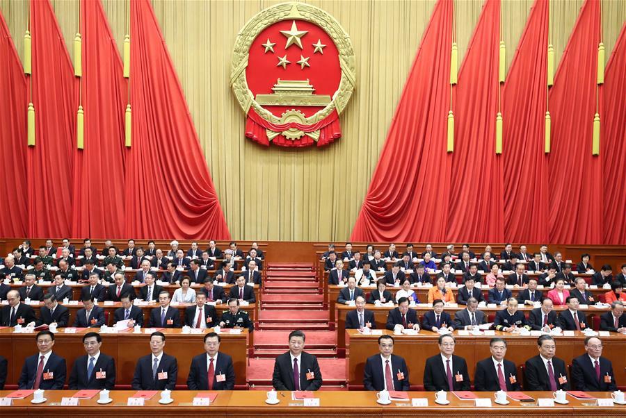 (两会)(2)十三届全国人大一次会议在京闭幕