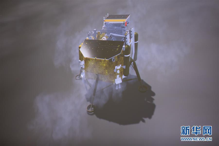 """(新华全媒头条·图文互动)(3)""""探月梦""""托举""""中国梦""""——人类首次月球背面探测全纪实"""