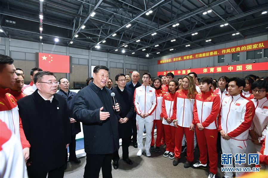 (时政)(2)习近平春节前夕在北京看望慰问基层干部群众