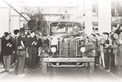 """70年!新中国的""""第一""""批国产汽车诞生"""