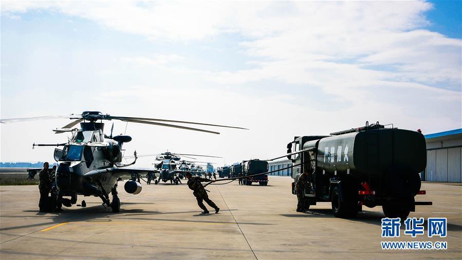 (新春走基层·图文互动)(1)进击!飞起来的中国陆军