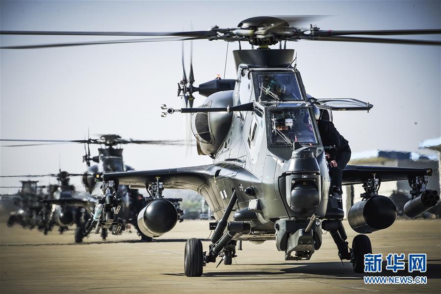 (新春走基层·图文互动)(2)进击!飞起来的中国陆军