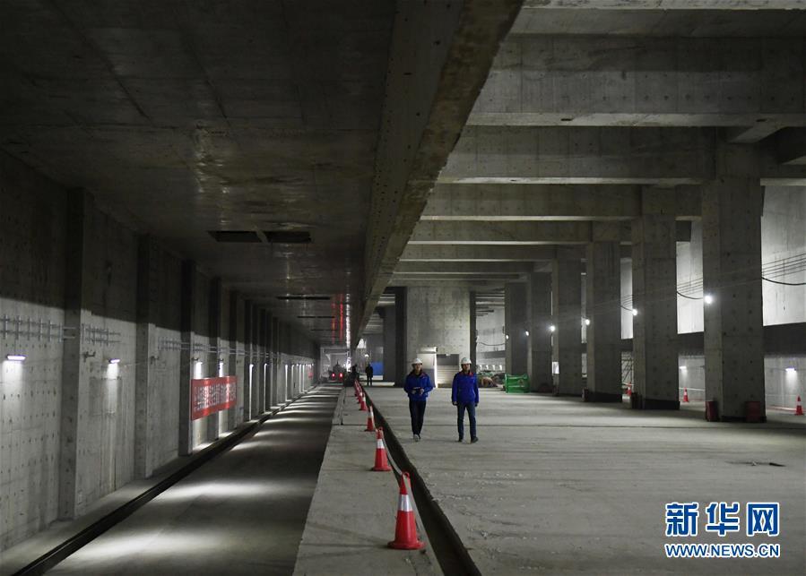 (社會)(1)京雄城際鐵路北京新機場站主體工程完工