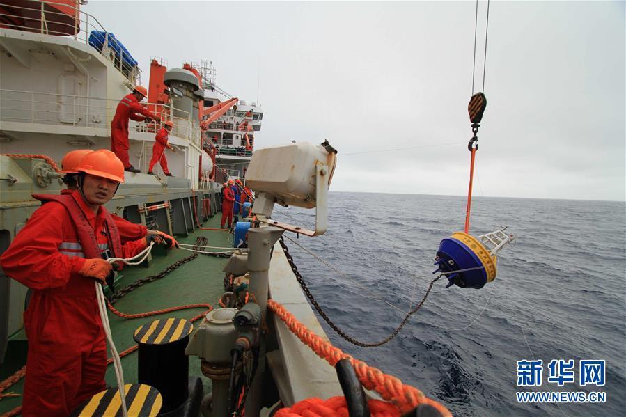 """(图文互动)(7)""""雪龙""""号驶入我国海域 中国第35次南极科考取得多项重要成果"""