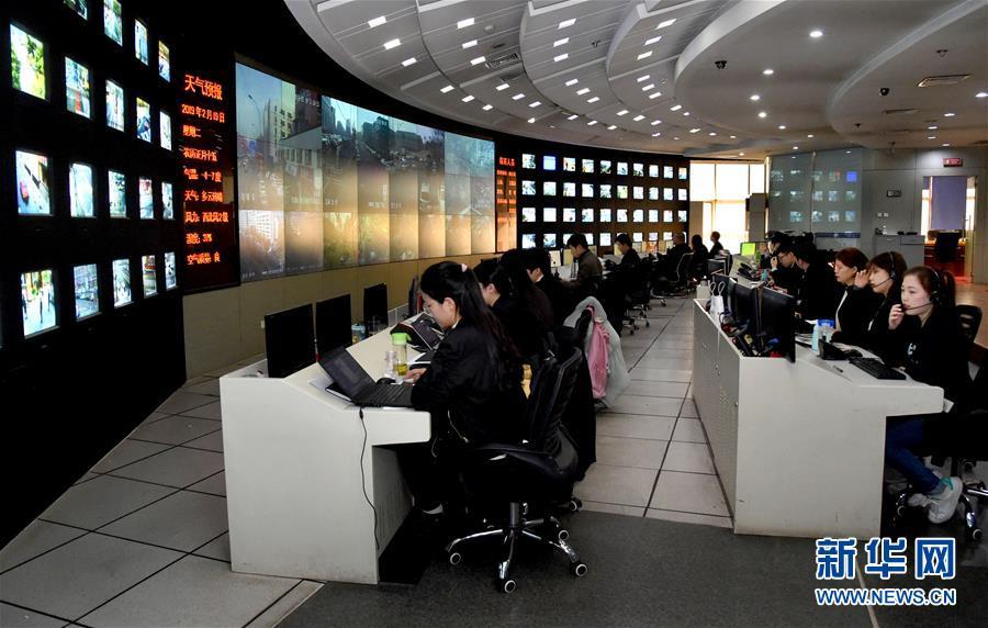 """(在习近平新时代中国特色社会主义思想指引下——新时代新作为新篇章·图文互动)(1)北京海淀:""""城市大脑""""带来了啥?"""