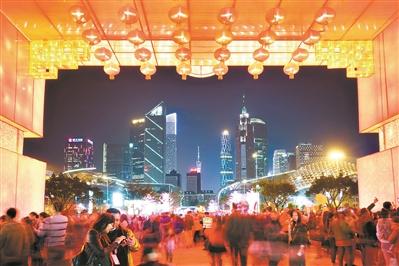 """大数据报告显示""""反向过年""""广州最热门"""