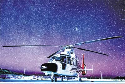 AC312E直升机完成关键试飞 国产直升机...