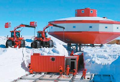 国家工程|中国三大冰雪基建闪耀南极(多图)