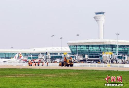 资料图?#20309;?#27721;天河机场。<a target='_blank' href='http://www.chinanews.com/'><p  align=