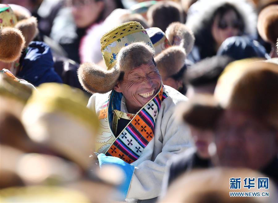 (西藏民主改革60年)(3)庆祝西藏民主改革60周年大会在拉萨举行