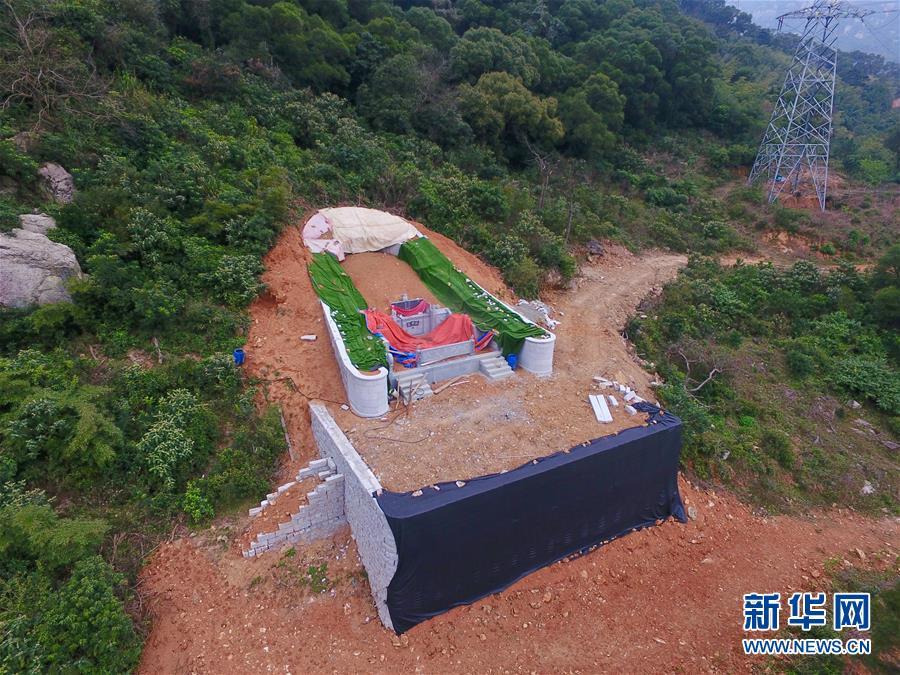 (新華視點·圖文互動)(4)福州沿海:密林深處、水庫旁邊,大片豪華活人墓偷偷建造……