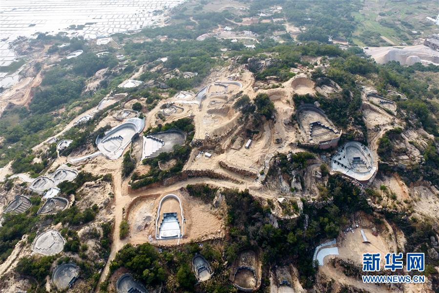 (新華視點·圖文互動)(7)福州沿海:密林深處、水庫旁邊,大片豪華活人墓偷偷建造……