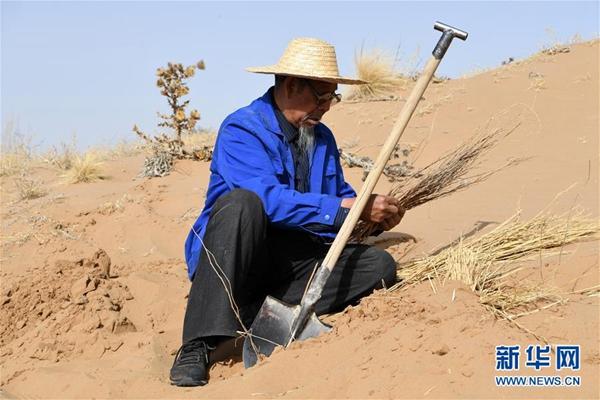 """荒漠变绿洲的奋斗者――八步沙林场""""六老汉""""三代人治沙造林先进事迹引起热烈反响"""