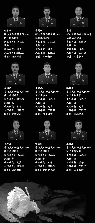 请记住这30个名字!凉山森林火灾牺牲英雄名单公布