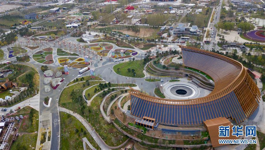 (北京世园会)(4)鸟瞰2019北京世园会园区