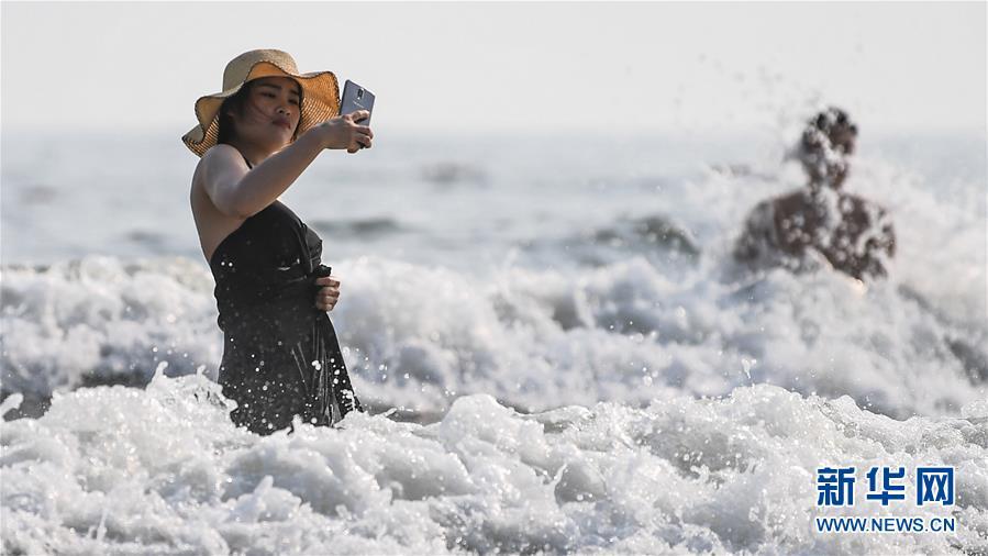 (壮丽70年 奋斗新时代——推动高质量发展调研行·图文互动)(8)近海能看鲸鱼白海豚,广西这片滨海旅游胜地啥来头?
