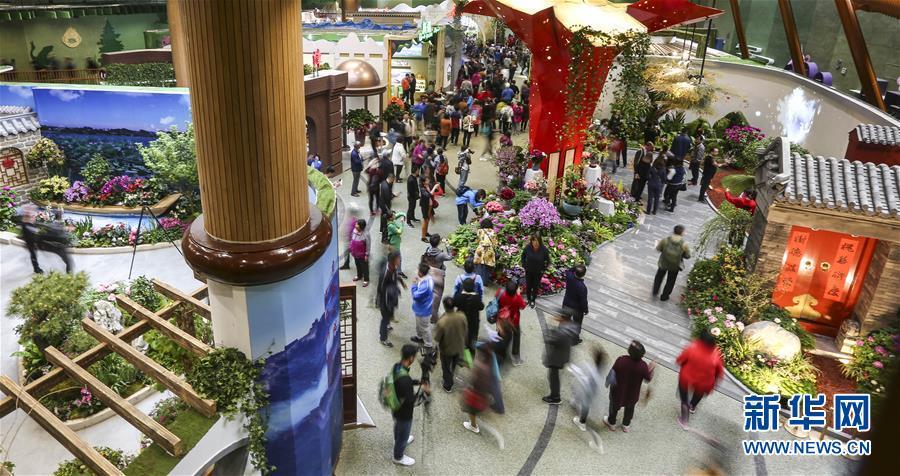 """(新华全媒头条·北京世园会·图文互动)(3)共绘人类生态文明美丽画卷——从北京世园会看中国绿色发展的""""世界贡献"""""""